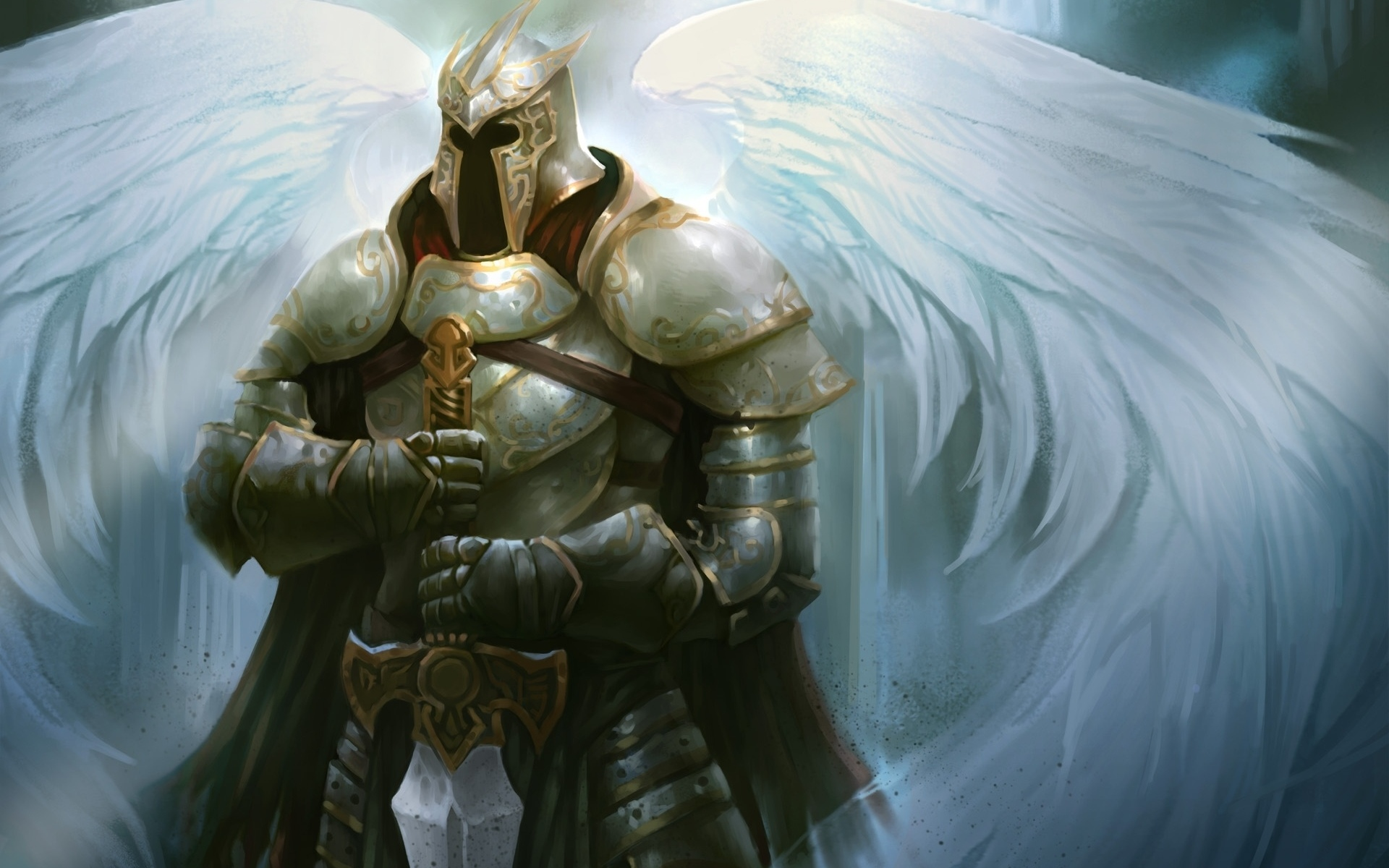 other wallpaper angel warrior - photo #12