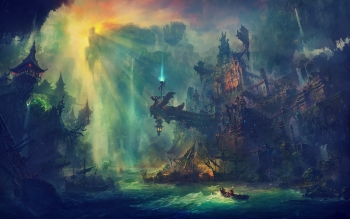 Fantasy - City Wallpapers and Backgrounds ID : 430092