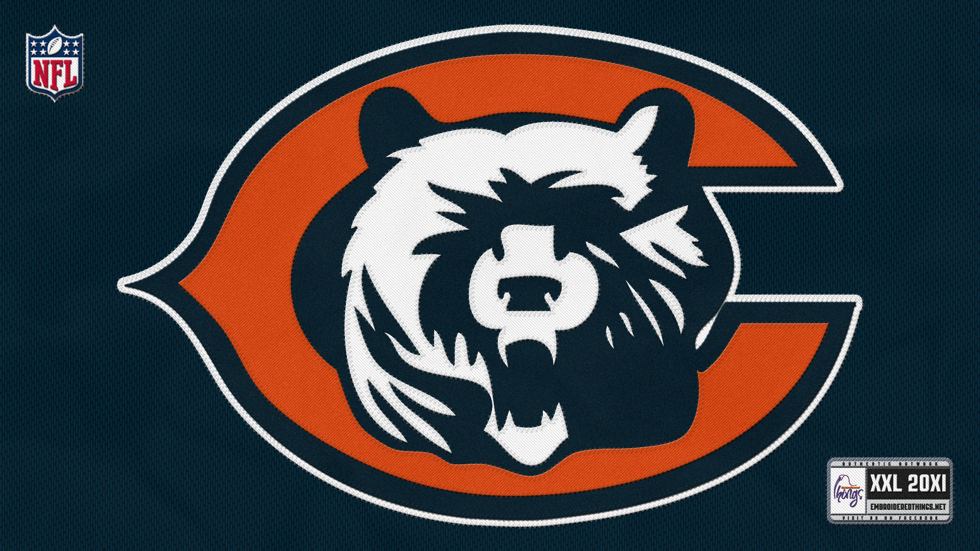 chicago bears full hd wallpaper and background 2000x1125