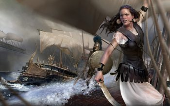 Fantasy - Women Warrior Wallpapers and Backgrounds ID : 434665