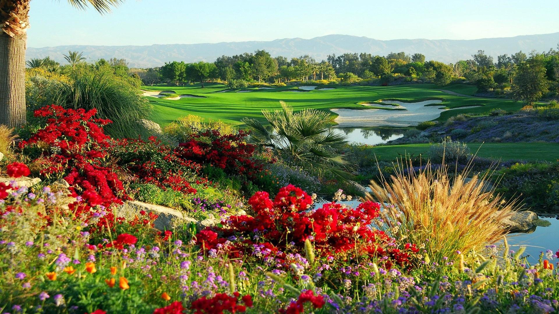Golf Course HD Wallpaper