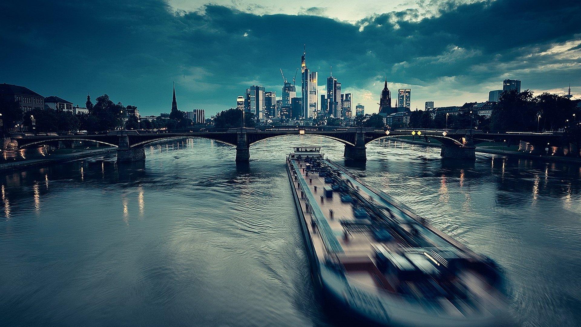Frankfurt Full HD Wallpaper And Hintergrund 1920x1080