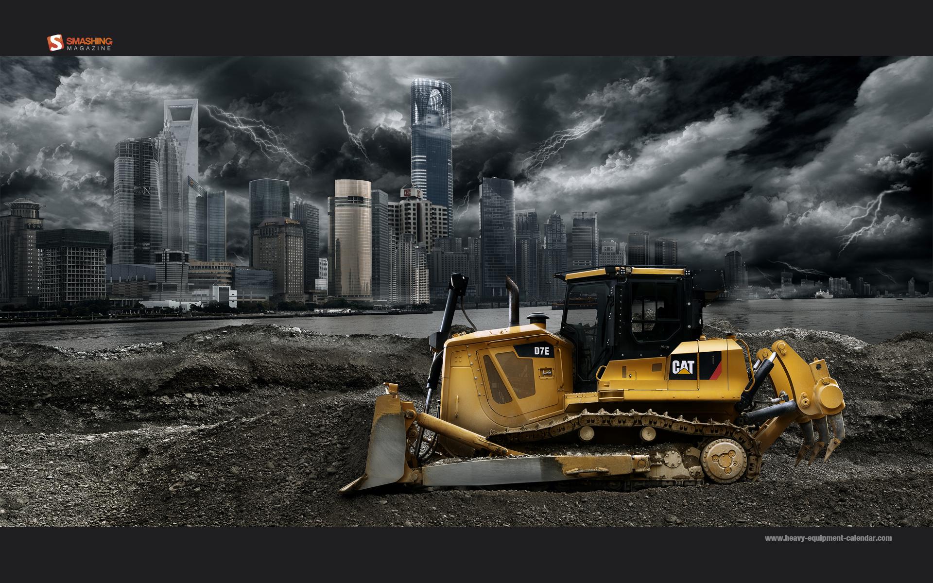 1 Caterpillar D7E Bulldozer HD Wallpapers | Backgrounds ...