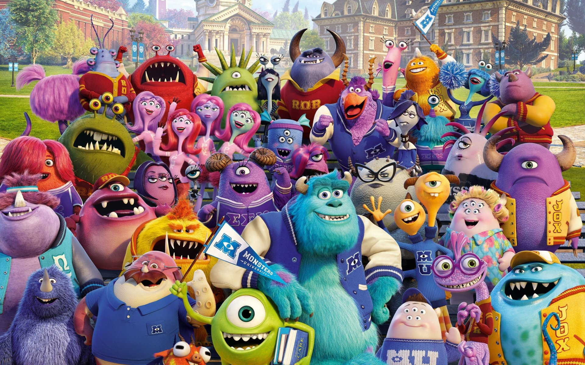 94 Monsters University HD Wallpapers