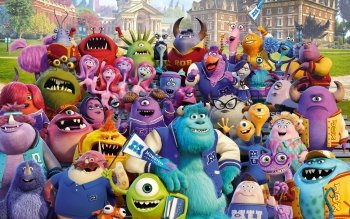 Movie - Monsters University Wallpapers and Backgrounds ID : 436149