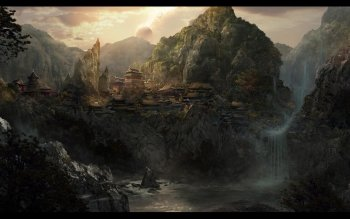Fantasy - City Wallpapers and Backgrounds ID : 436456