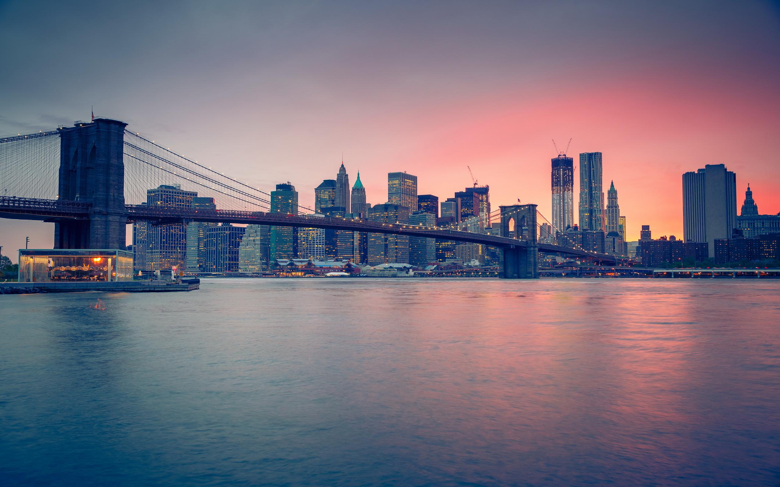 Brooklyn Bridge Hd Wallpaper Background Image 2560x1600