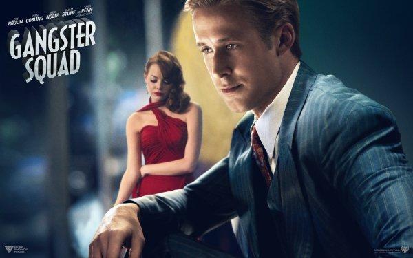 Movie Gangster Squad Gangster Emma Stone Ryan Gosling HD Wallpaper   Background Image