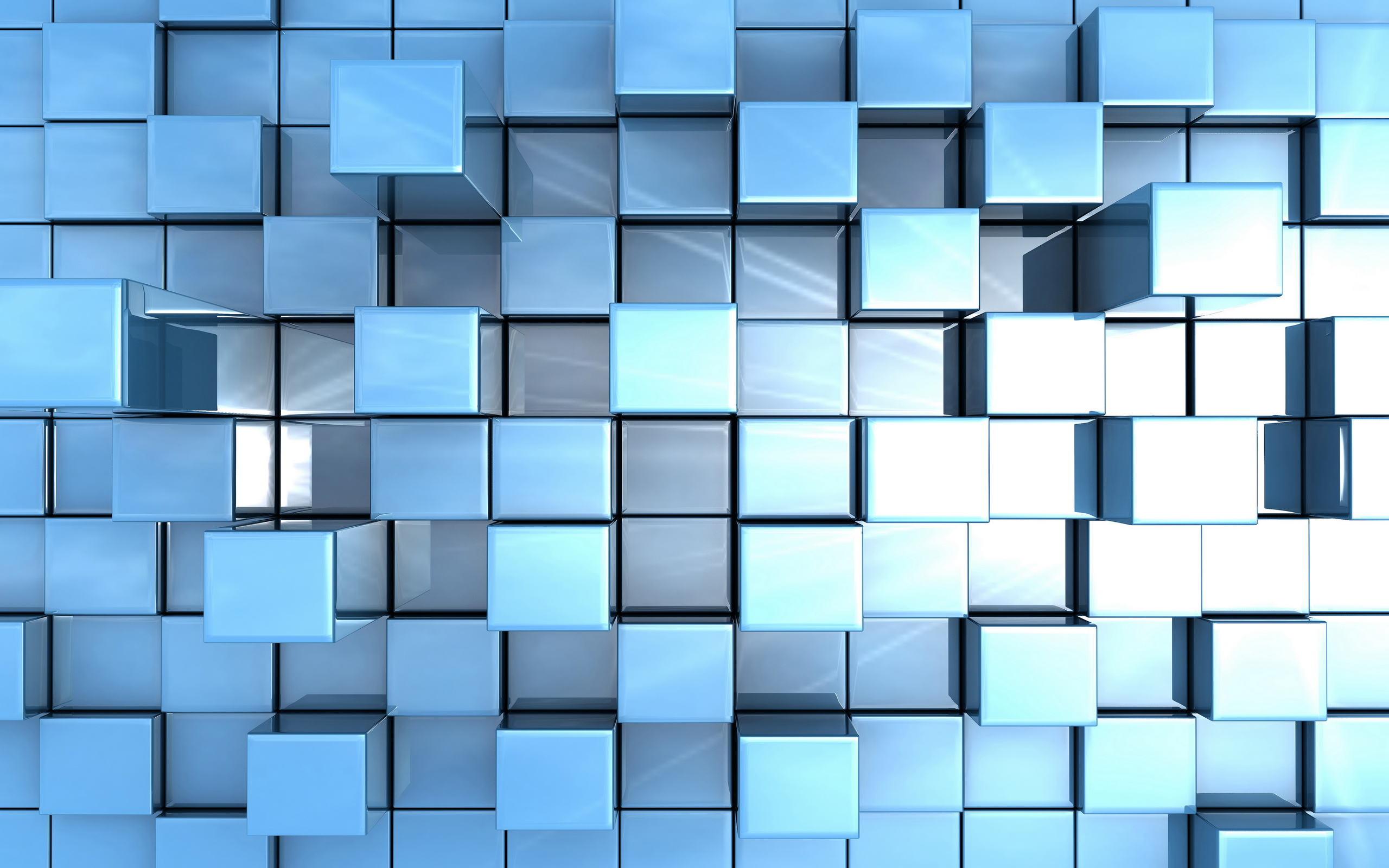 Синие кубики геометрии научной фантастики текстура фон материал ... | 1600x2560