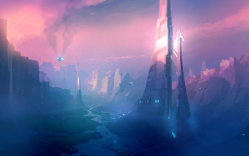 Science-Fiction - Landschaft Wallpapers and Backgrounds ID : 438549