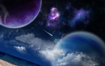 Ciencia Ficción - Planet Rise Wallpapers and Backgrounds ID : 438709