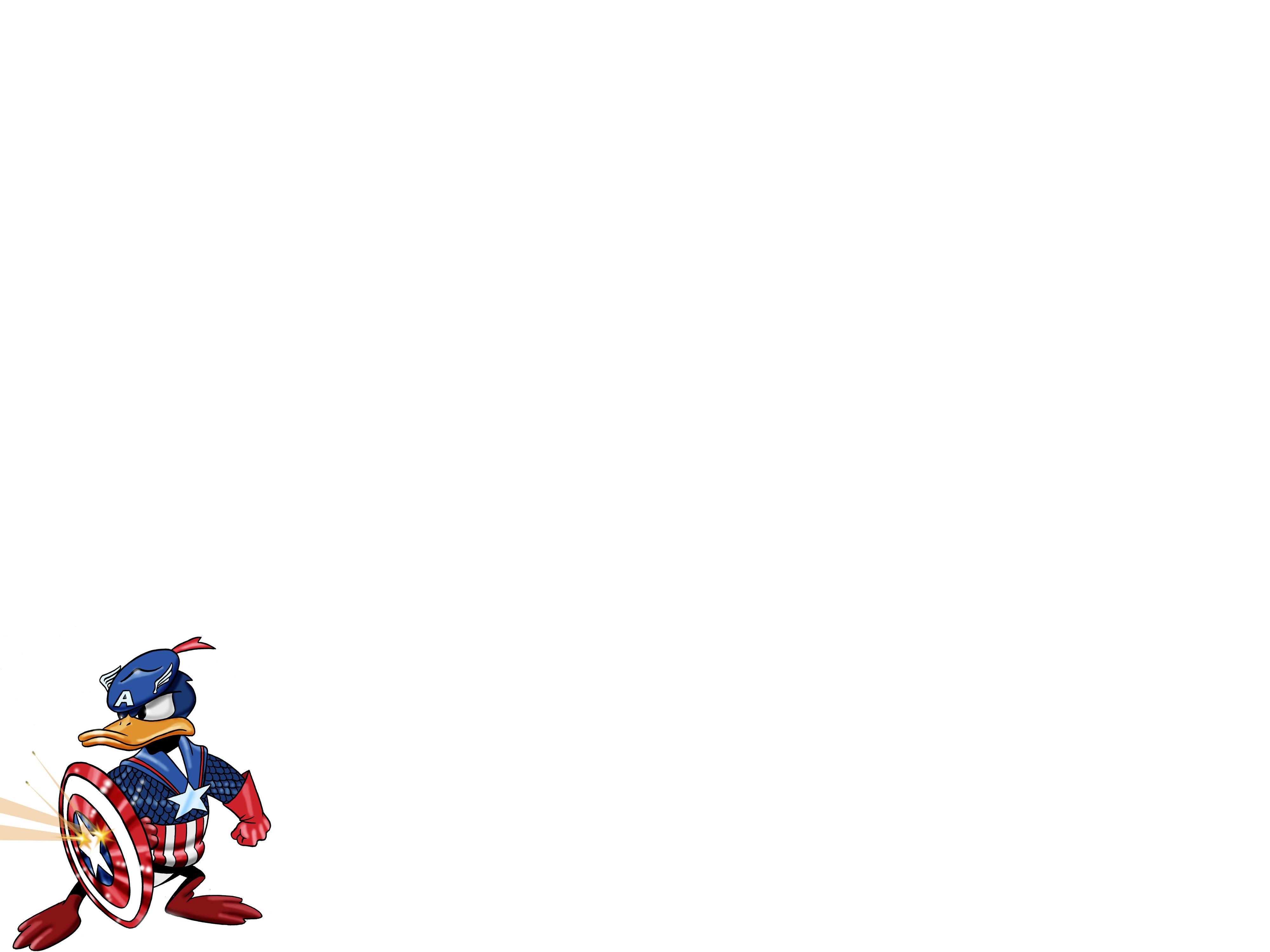 Wallpaper iphone donald duck - Comics Captain America Donald Duck Wallpaper