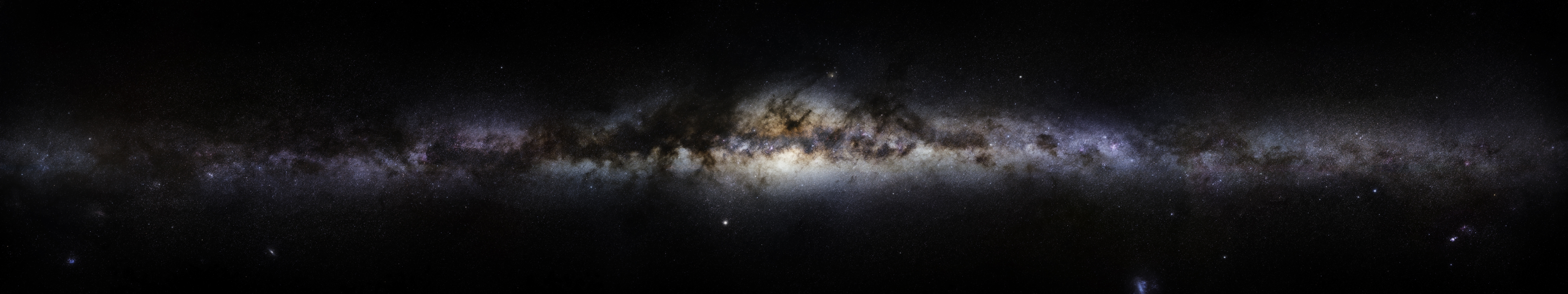 Space Wallpaper 5760x1080