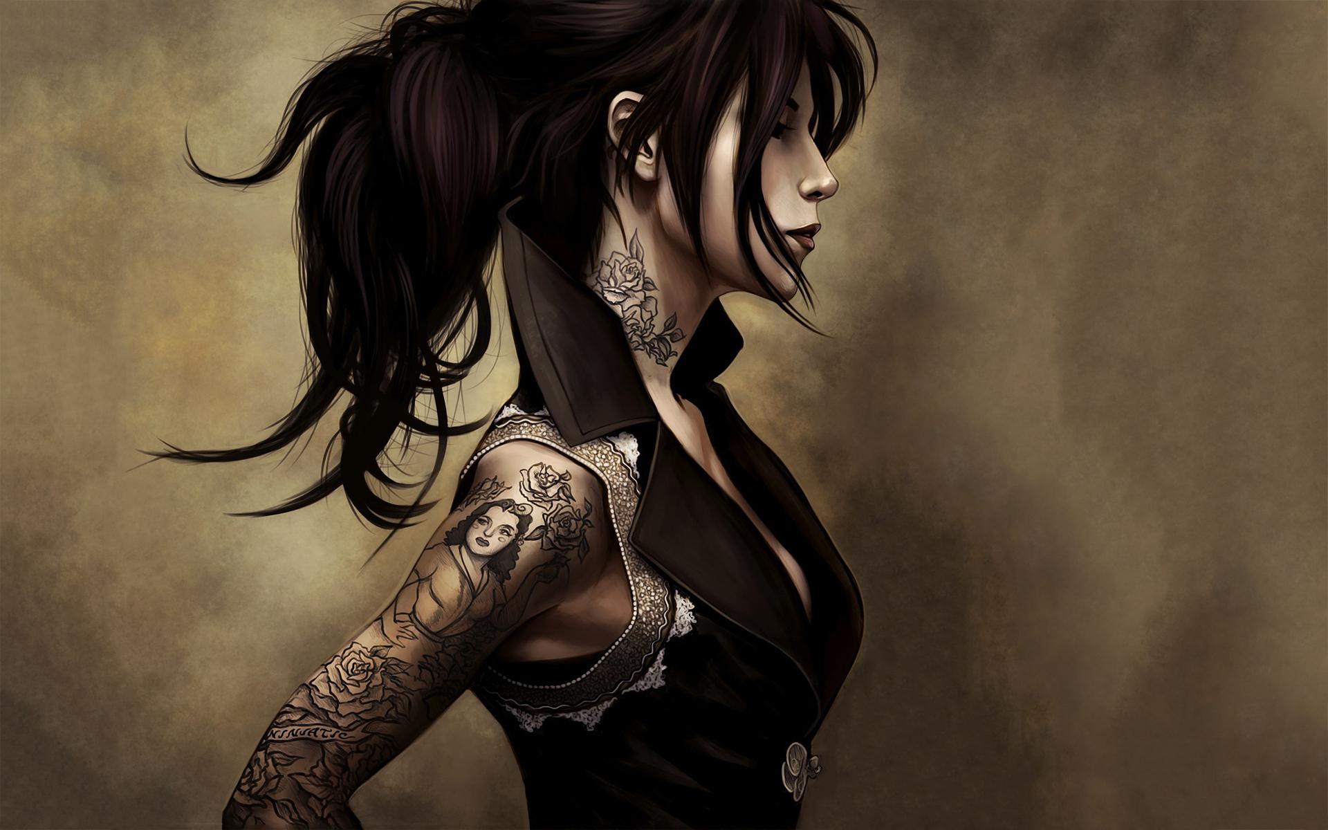 Fantasy - Tattoo  Wallpaper