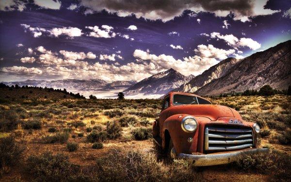 Vehicles GMC Vintage Car HD Wallpaper | Background Image