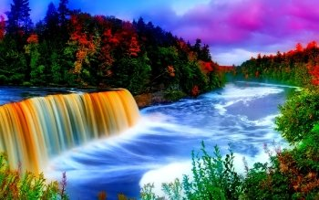 Earth - Waterfall Wallpapers and Backgrounds ID : 446304