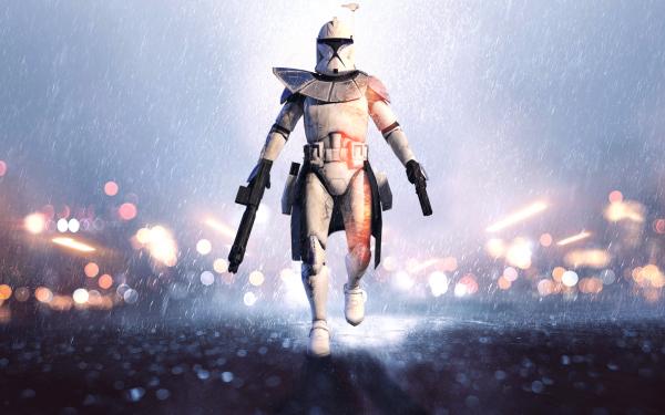 Ciencia ficción La Guerra De Las Galaxias La Guerra de las Galaxias Battlefield Soldado Clone Trooper Star Wars Battlefront Fondo de pantalla HD | Fondo de Escritorio