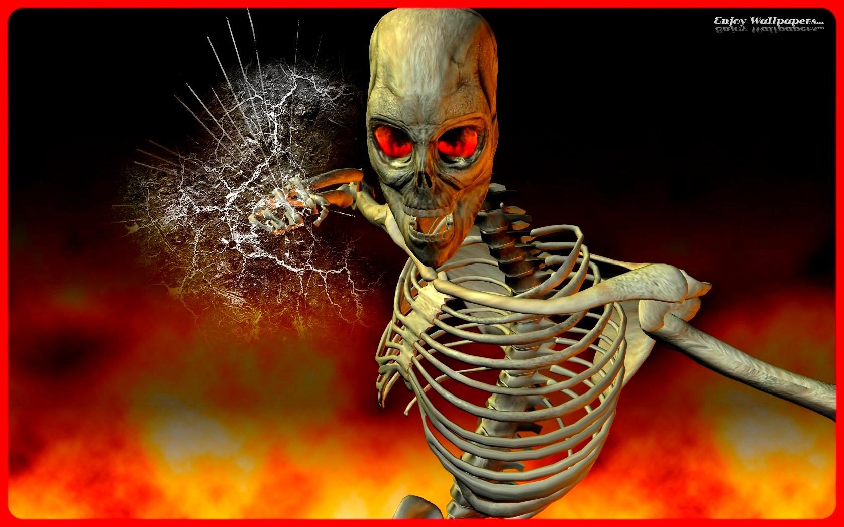 Skeleton wallpaper and background image 1680x1050 id - Skeleton wallpaper ...