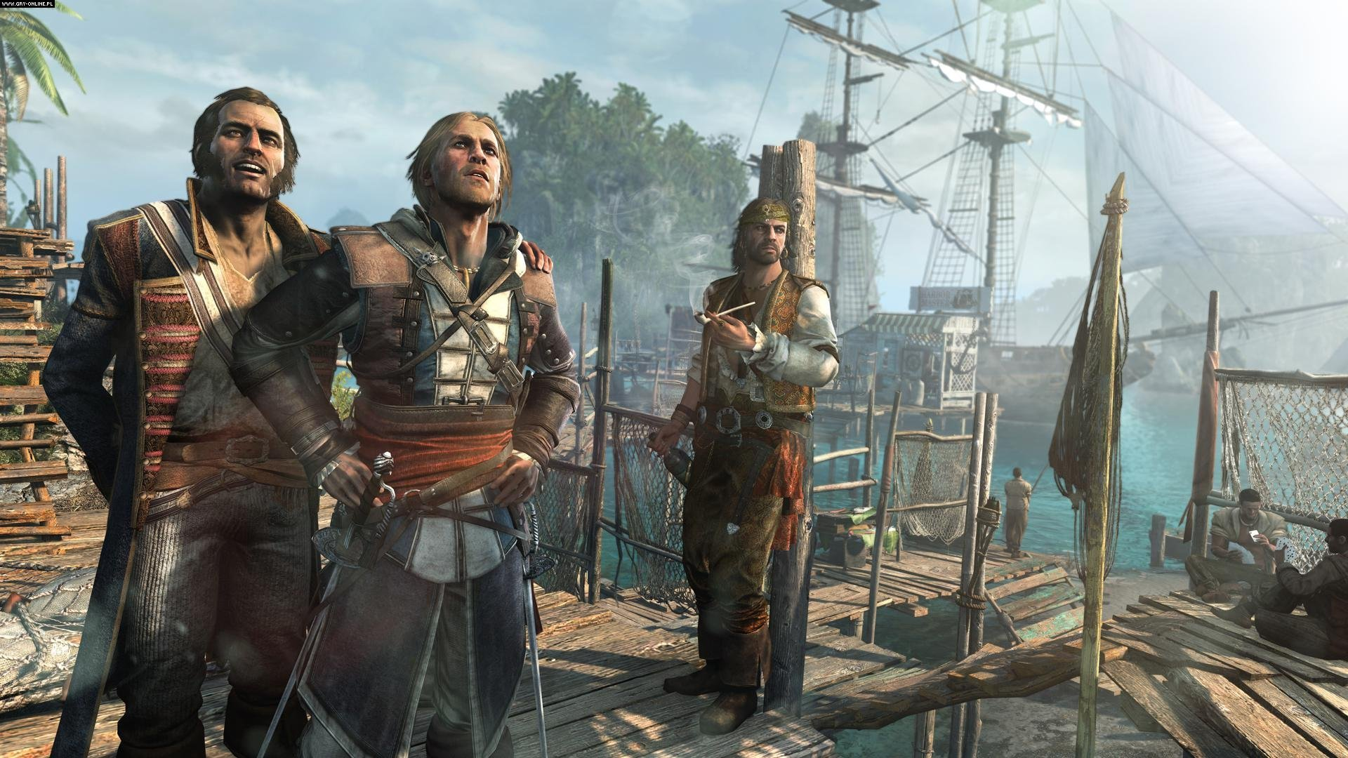 Assassin S Creed Iv Black Flag Hd Wallpaper Background Image 1920x1080 Id 448098 Wallpaper Abyss