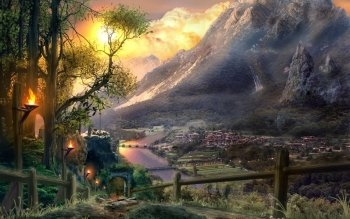 Fantasy - City Wallpapers and Backgrounds ID : 448949