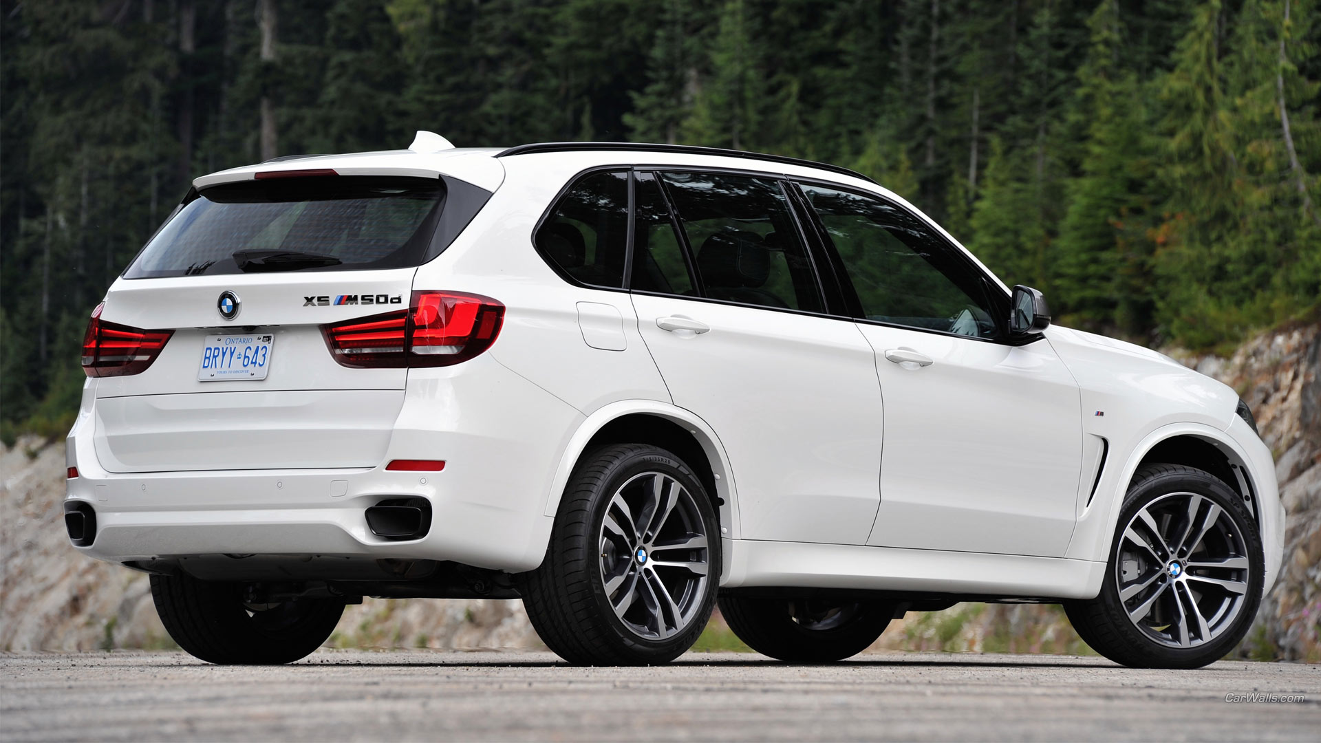 2014 BMW X5 M50d HD Wallpaper | Background Image ...