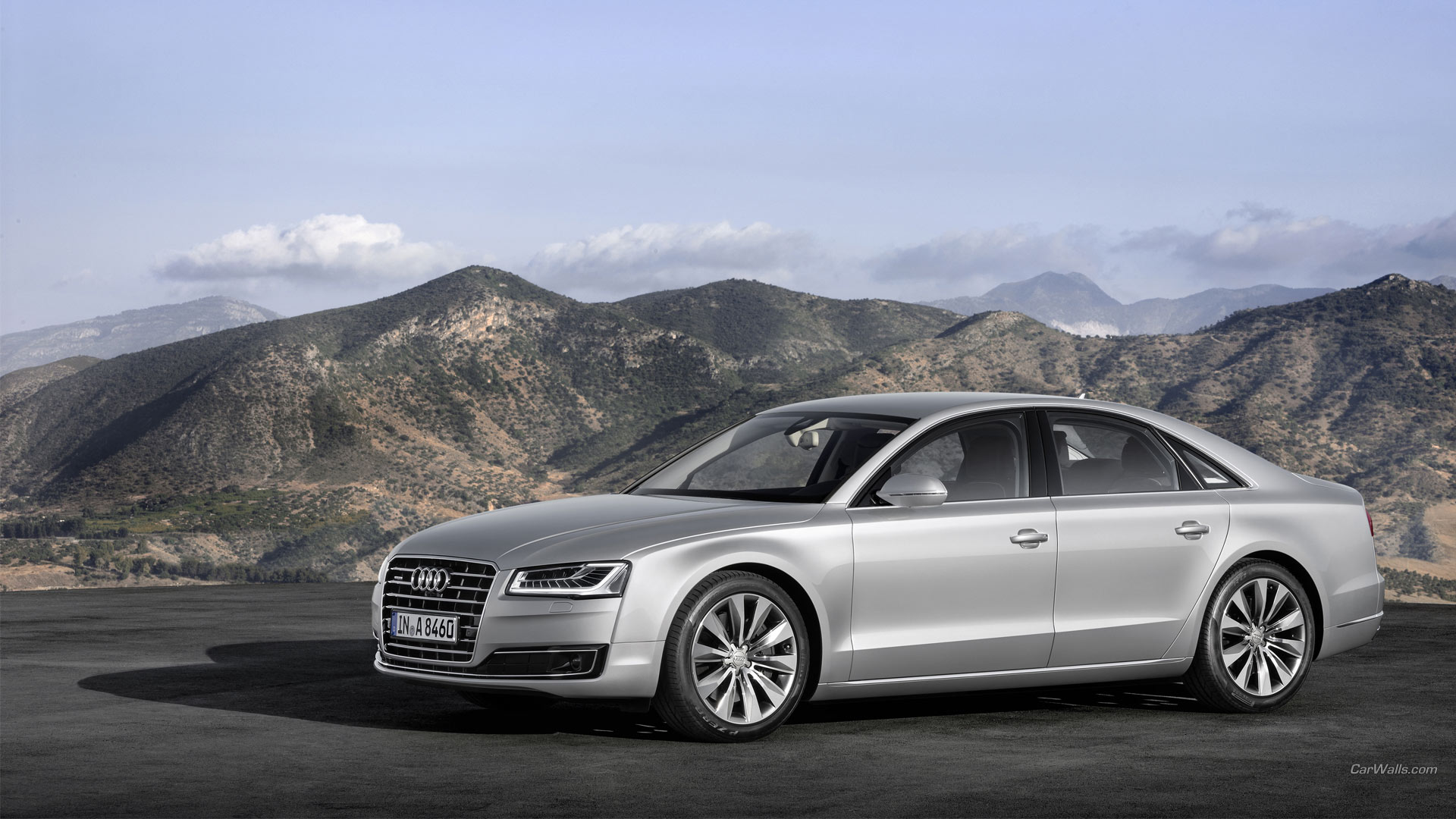 10 2014 audi a8 l hd wallpapers backgrounds wallpaper abyss. Black Bedroom Furniture Sets. Home Design Ideas