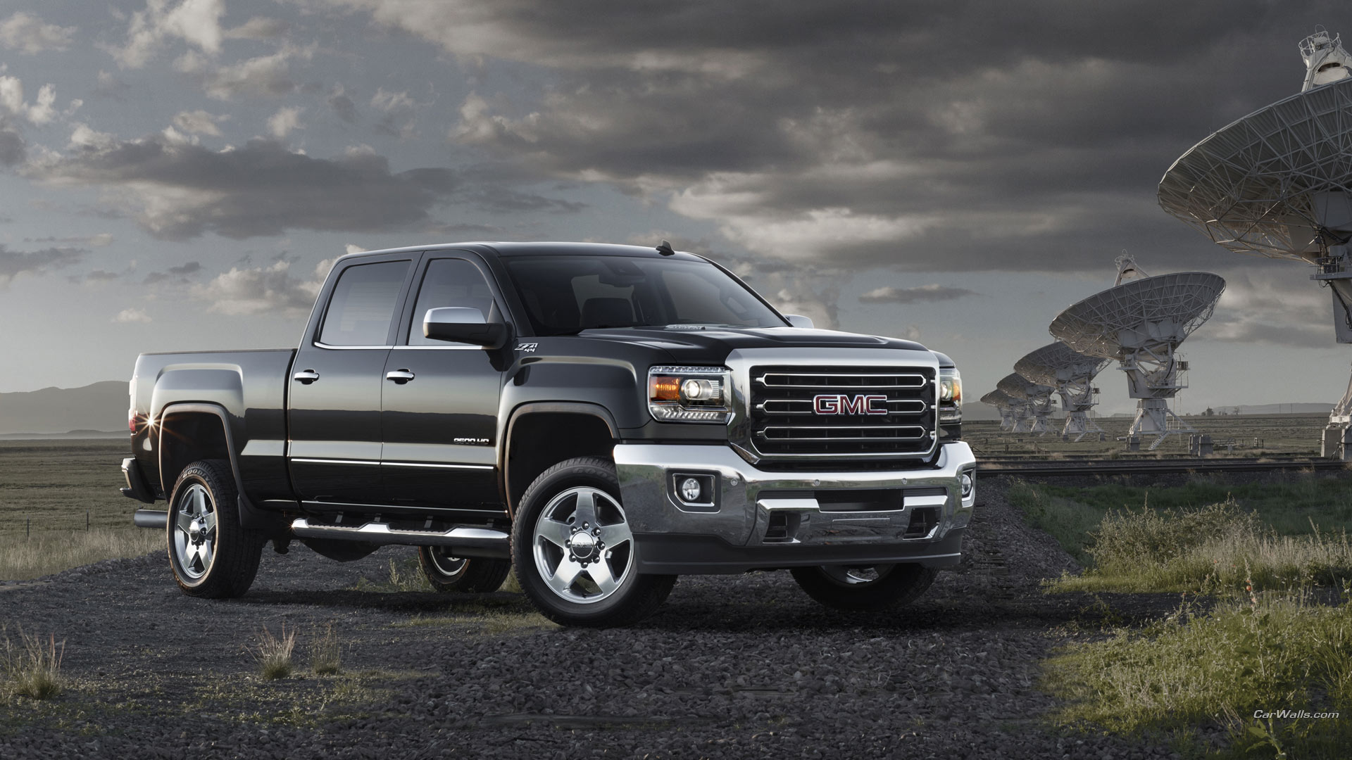 2015 GMC Sierra HD Full Wallpaper And Background Image