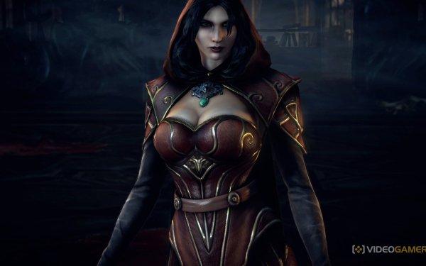 Video Game Castlevania: Lords Of Shadow 2 Castlevania Carmilla HD Wallpaper   Background Image