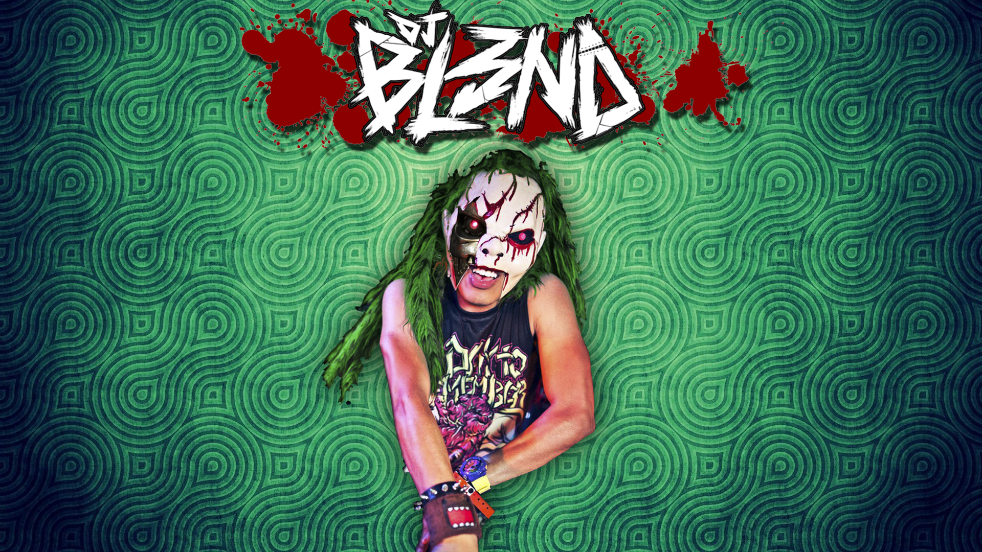 DJ BL3ND X_O Full HD Wallpaper And Background Image