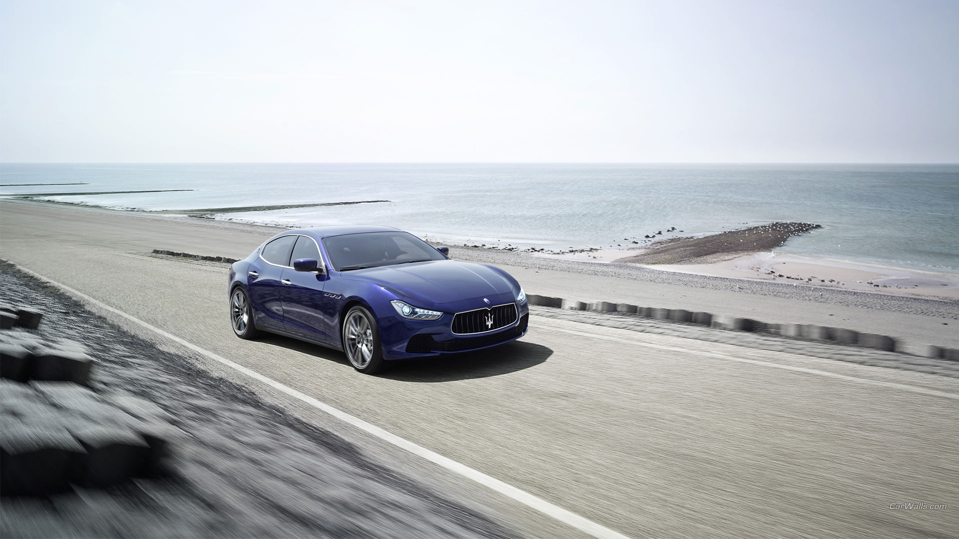 Maserati Ghibli Full HD Wallpaper And Background Image