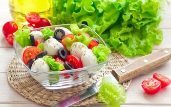 Alimento - Salad Wallpapers and Backgrounds ID : 450480
