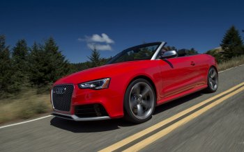 Vehículos - 2014 Audi RS5 Cabriolet Wallpapers and Backgrounds ID : 450557