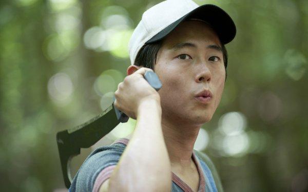 TV Show The Walking Dead Steven Yeun Glenn Rhee HD Wallpaper | Background Image