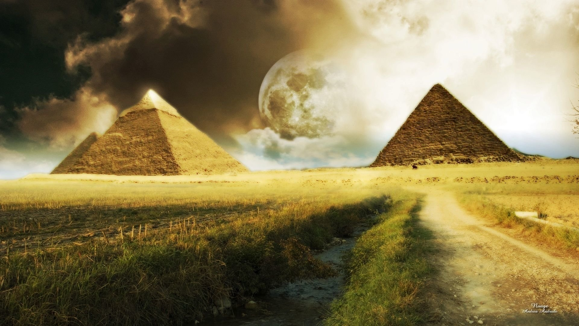 6 Pyramid HD Wallpapers