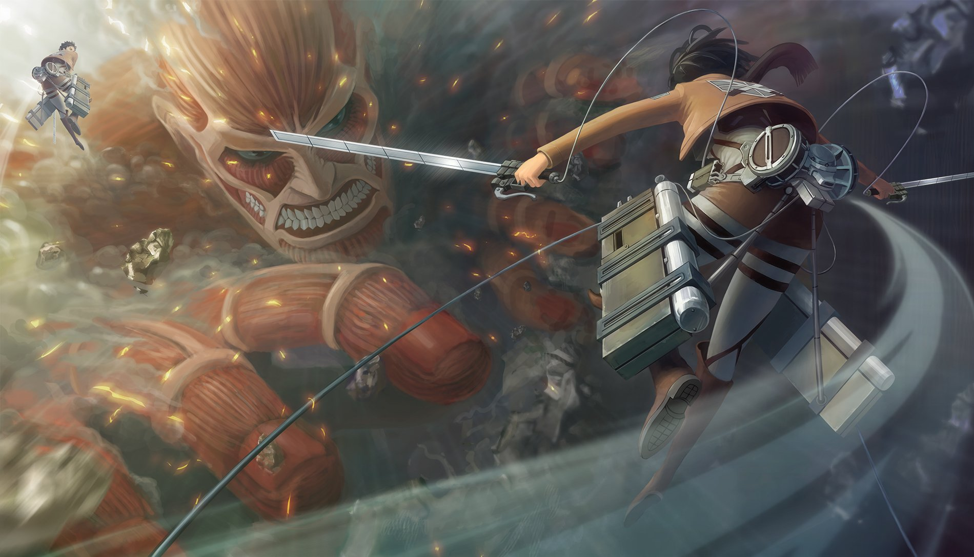 hd wallpaper background id451608 1900x1086 anime attack on titan