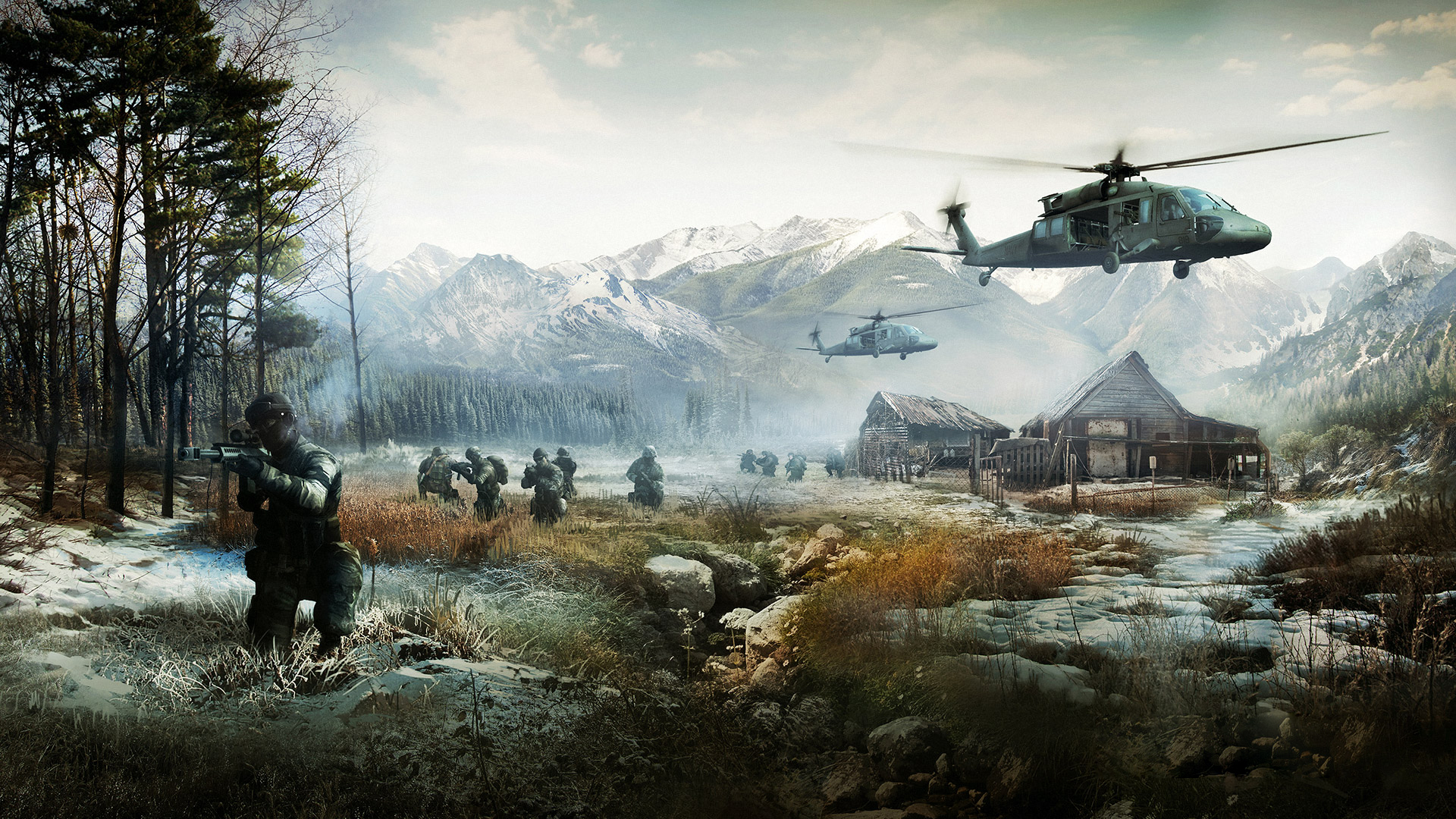 Battlefield 4 Games Wallpaper Hd: Battlefield 4 Full HD Wallpaper And Background Image