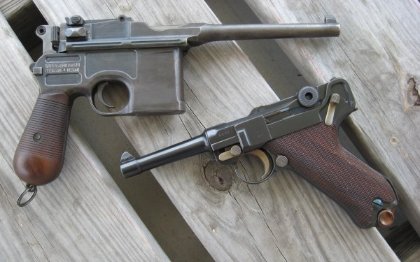 Weapons Mauser Pistol HD Wallpaper | Background Image