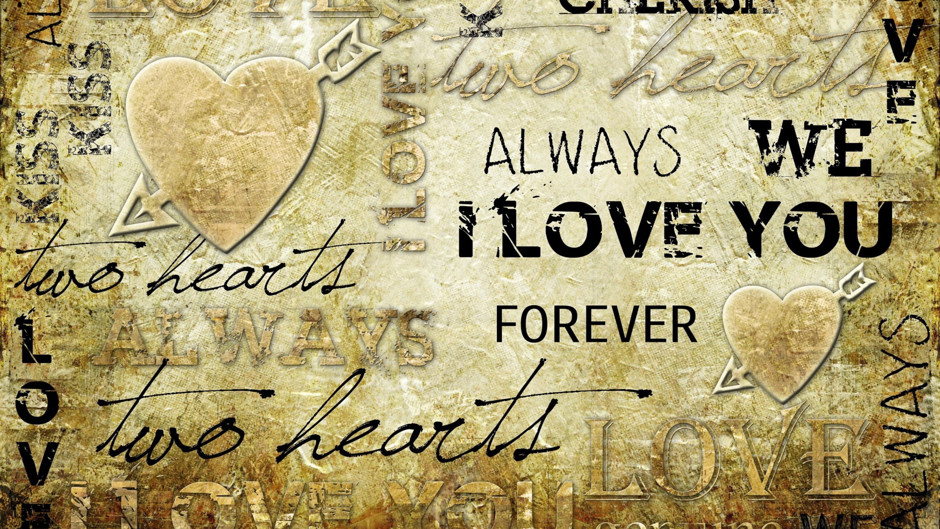 Wallpaper Love Forever Quotes : love Full HD Wallpaper and Hintergrund 1920x1080 ID:456232