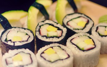 Food - Sushi Wallpapers and Backgrounds ID : 456789