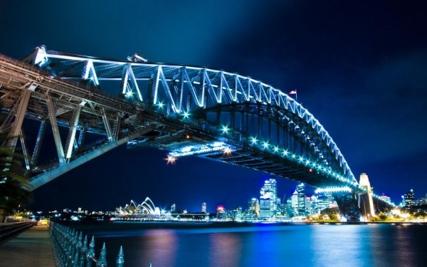 Man Made Sydney Harbour Bridge Bridges Bridge Sydney Australia HD Wallpaper   Background Image