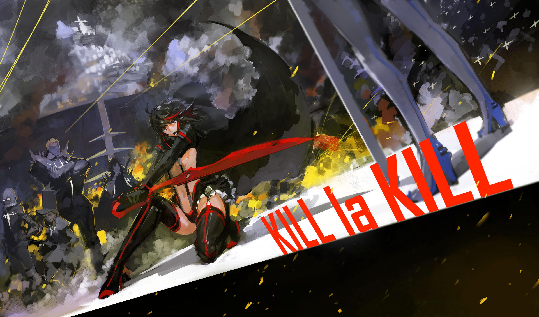 anime - kill la kill Computer Wallpapers, Desktop ...