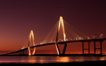 Man Made - Arthur Ravenel Jr. Bridge Wallpapers and Backgrounds ID : 459216
