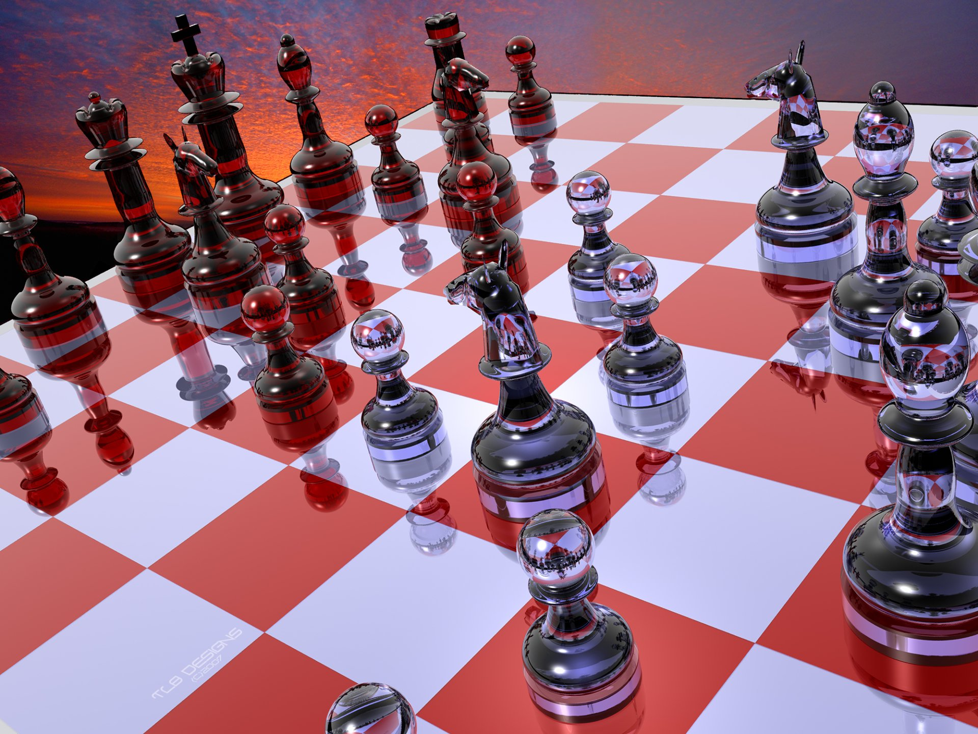 Game - Chess  Wallpaper
