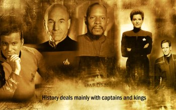 Televisieprogramma - Star Trek Captains Wallpapers and Backgrounds ID : 463321