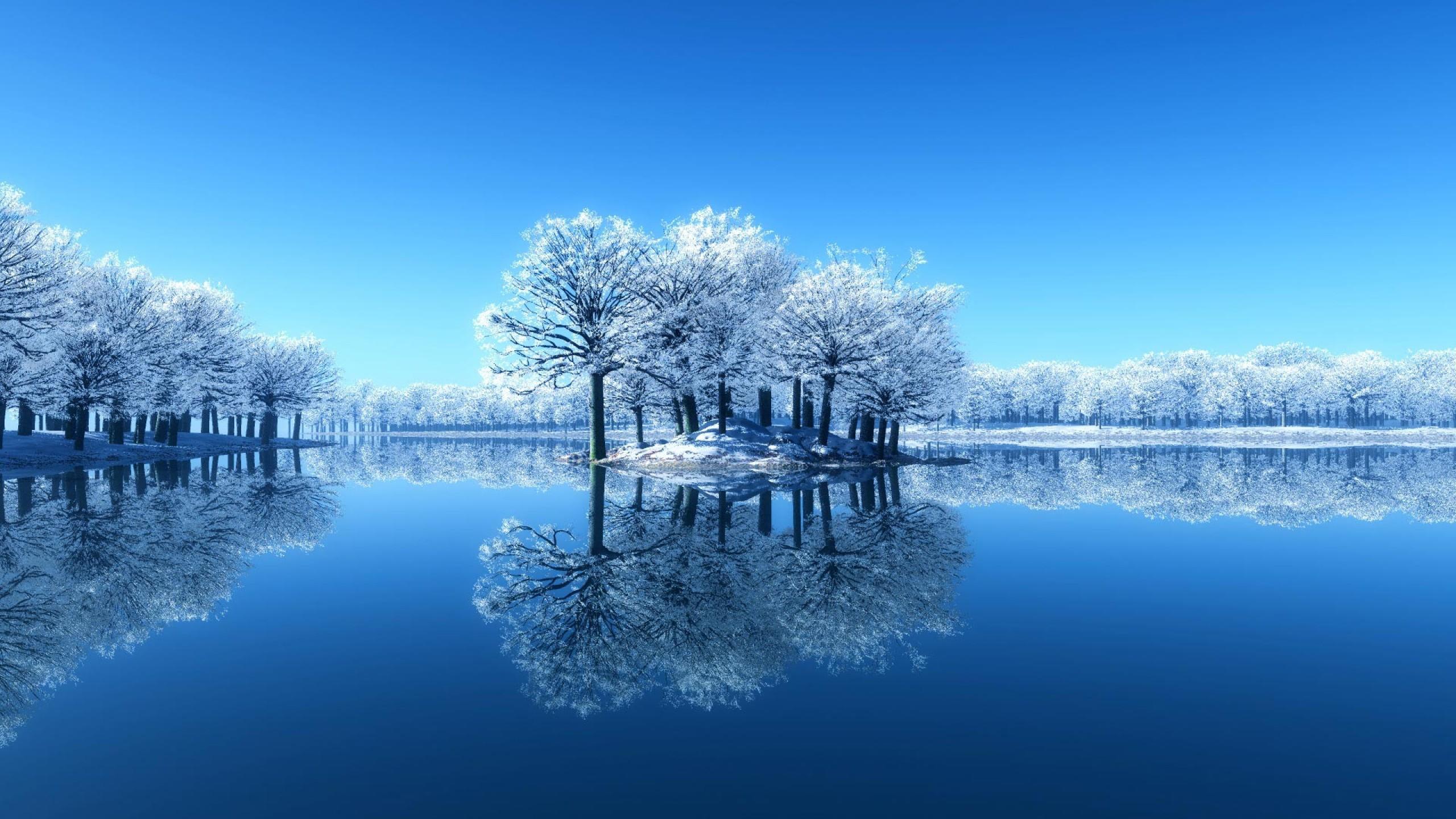 Winter Lake wallpaper - 1048975
