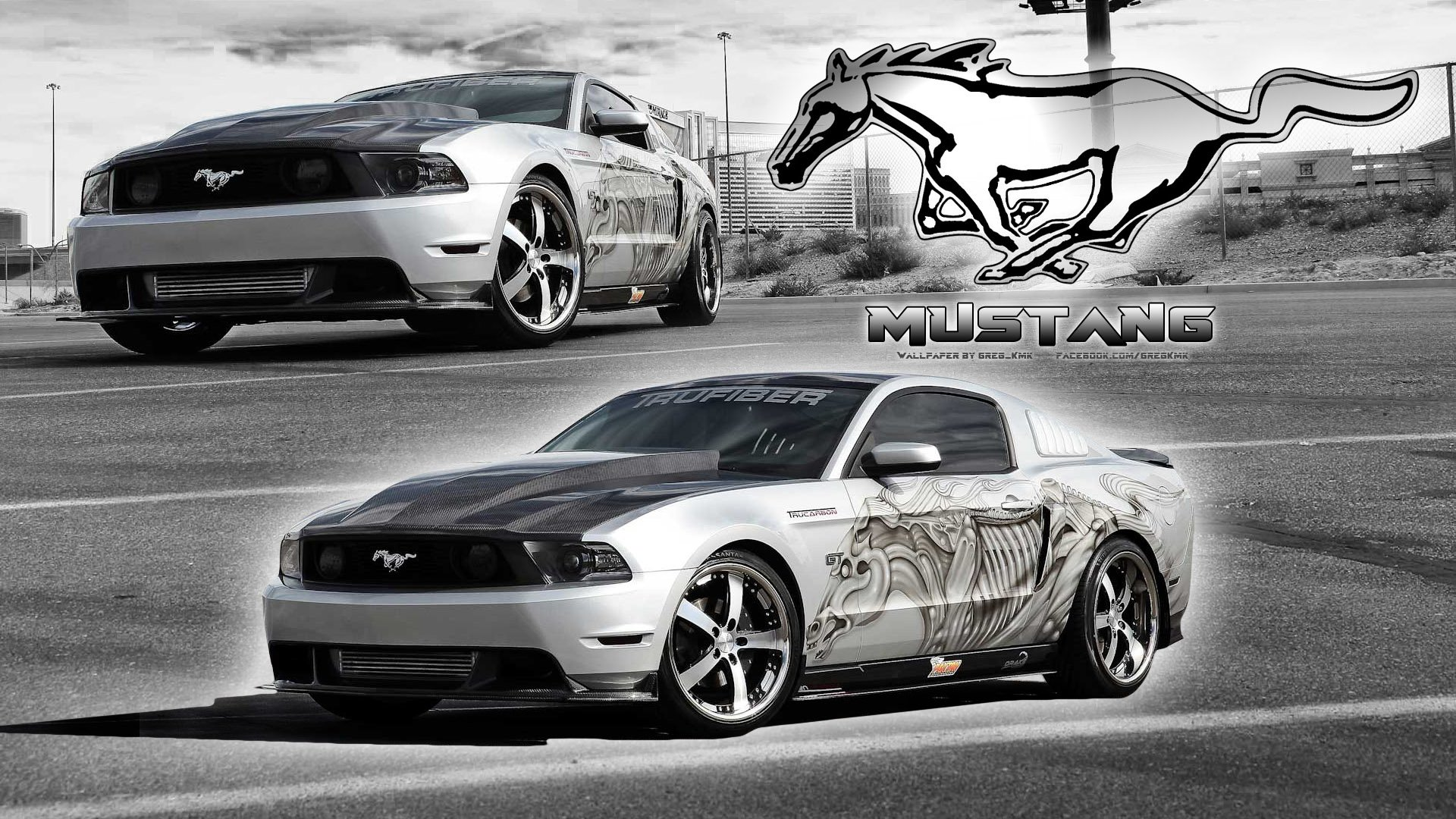 Vehicles - Ford Mustang  Ford Tuning Greg_Kmk Wallpaper