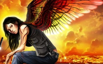 Fantasy - Angel Warrior Wallpapers and Backgrounds ID : 464158
