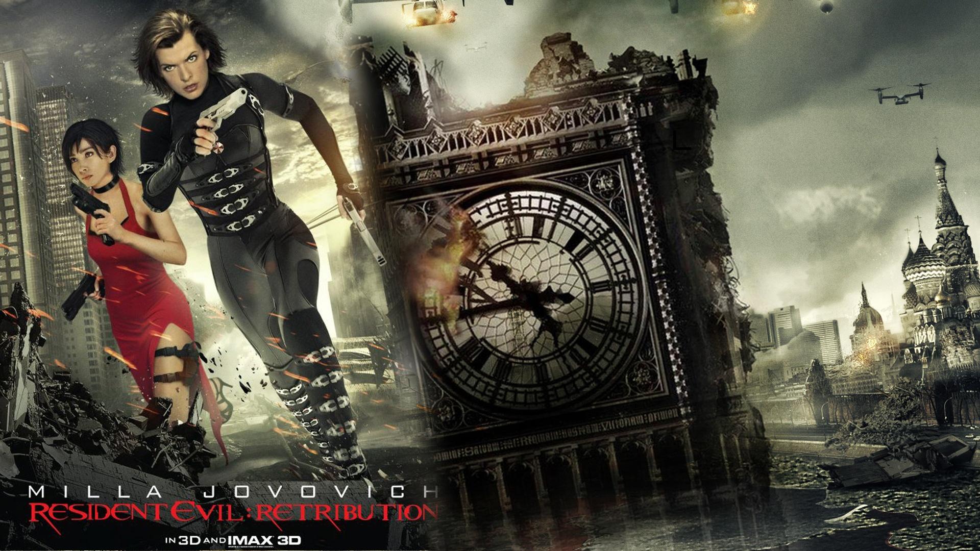 Resident Evil: Retribution Computer Wallpapers, Desktop ...