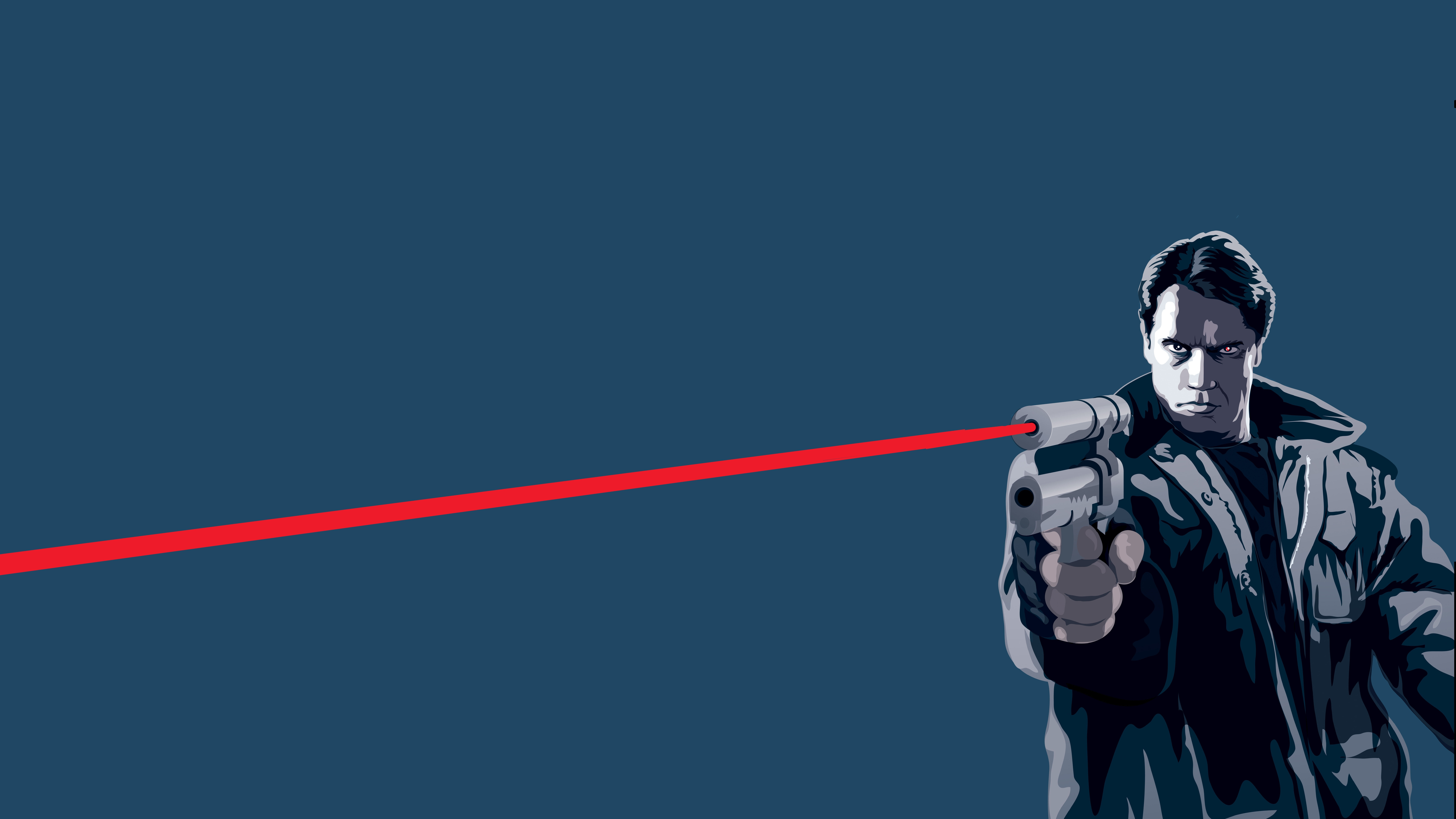 Terminator 8k Ultra Fondo De Pantalla Hd Fondo De