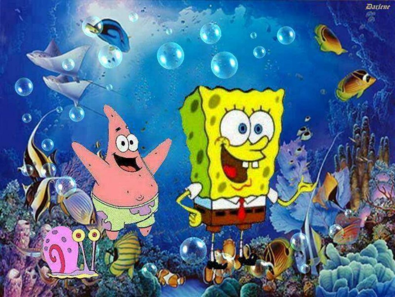 spongebob squarepants wallpaper and background image